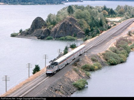 Pioneer at Cascade Locks, OR, 1993. Copyright Richard Sugg. Used by permission.