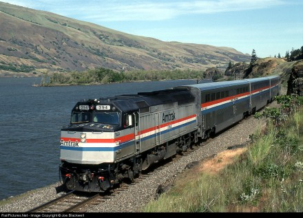 Pioneer at Rowena, OR, 1991. Copyright Joe Blackwell. Used by permission.