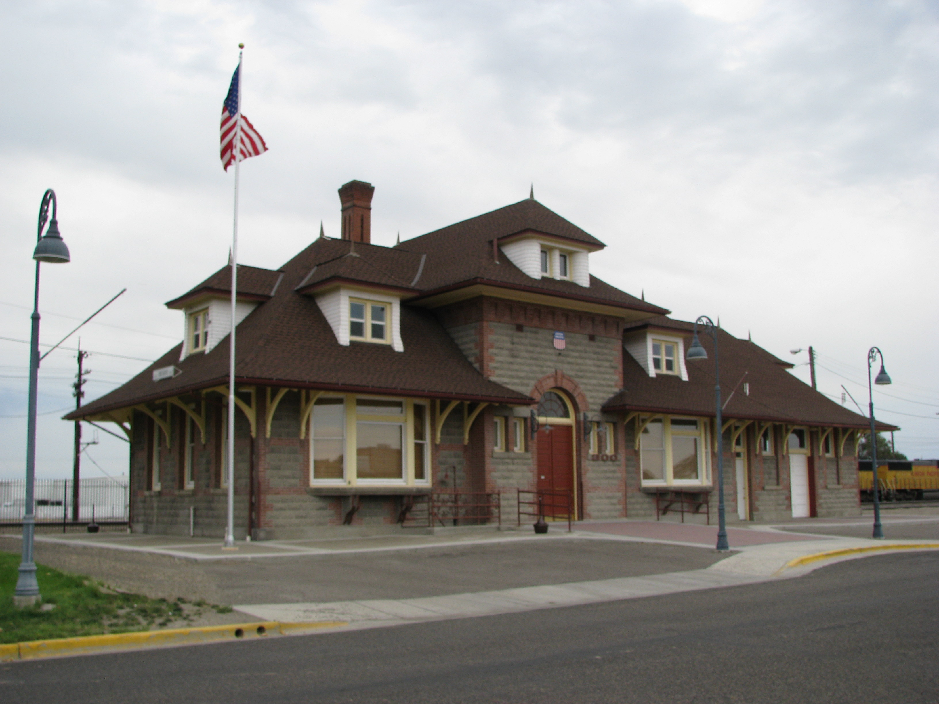 Ontario (OR) Station, 2009. Copyright Jim Hamre, used by permission.