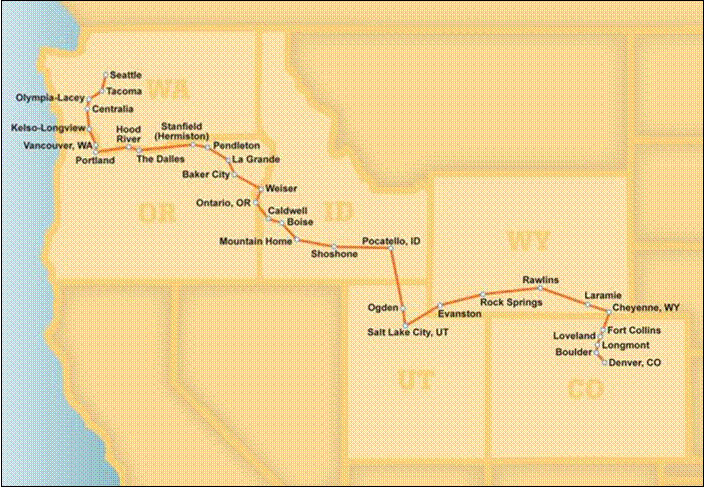 Route Of The Pioneer